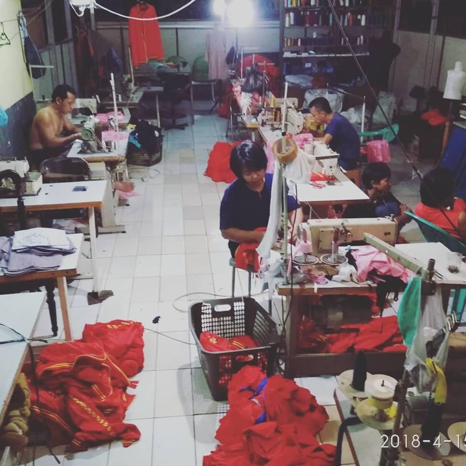 Proses Produksi Service Konveksi24jam.com