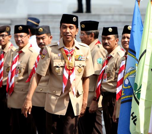 Seragam Pramuka Jokowi