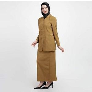 Jasa Jahit Seragam PNS Wanita Muslimah